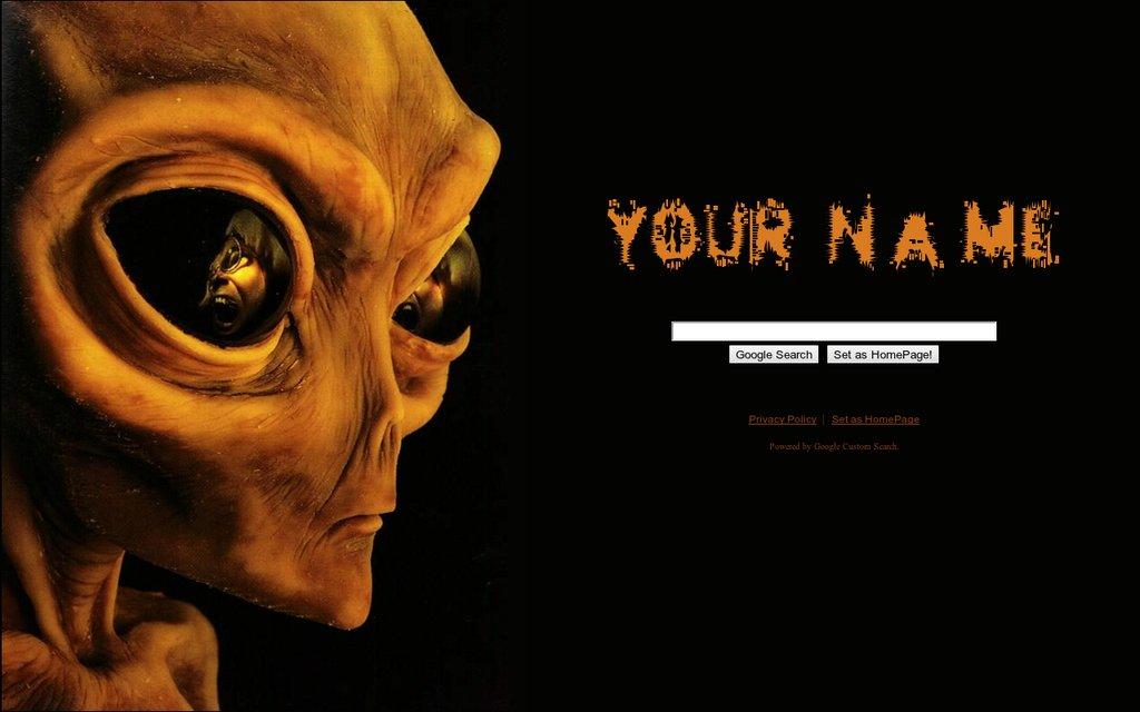 Alien Google Theme