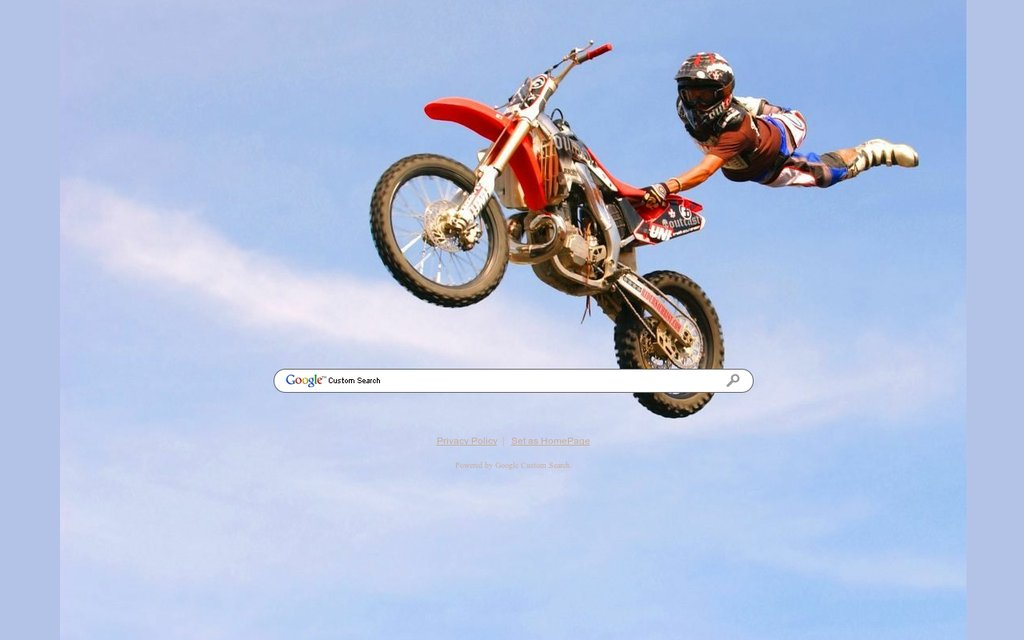 Top Motocross Google Theme BR84